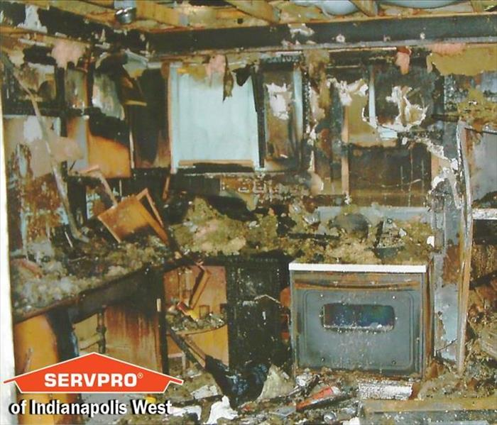 Speedway, IN Fire Damage Restoration, Smoke And Soot