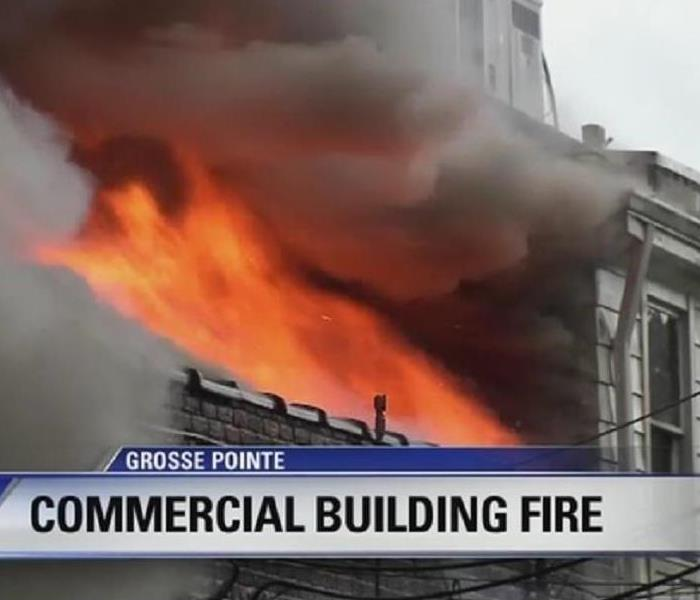 Commercial Fire Damage in Your Indianapolis Commercial Building
