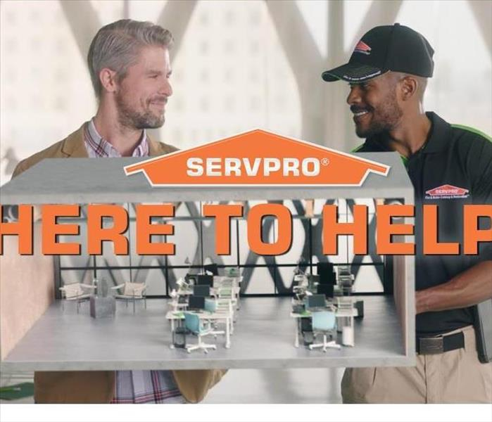 "Picture of SERVPRO employees with caption ""We"