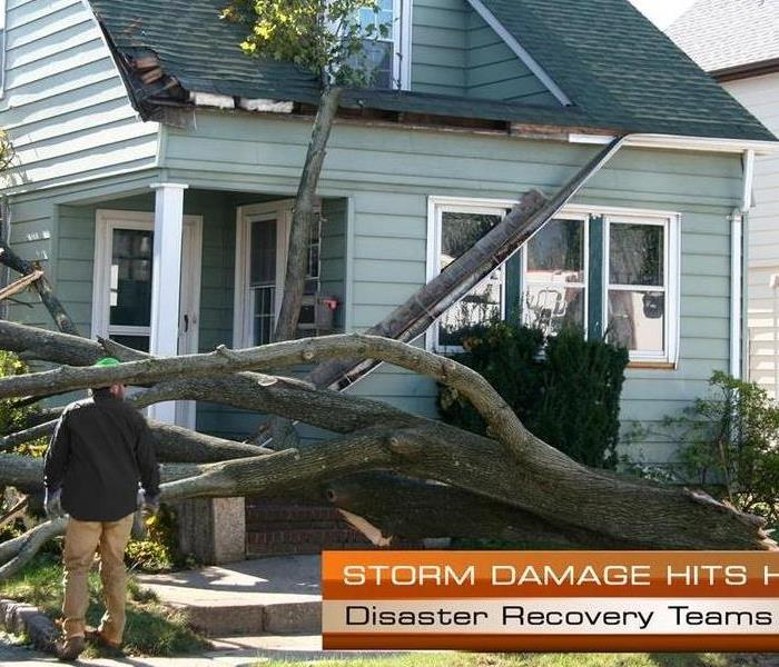 Storm Damage SERVPRO Storm Restoration Services in Indianapolis